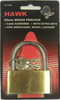 Padlock, 60MM Brass