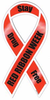 Ribbon Magnet, Red Ribbon Week