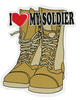 Auto Magnet, I Love My Soldier