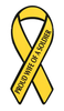 Ribbon Magnet, Proud Wife Of A Soldier