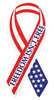Ribbon Magnet, Freedom Isn't Free 2055