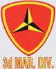 Decal, 3d MAR. DIV.