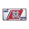 License Plate, Coast Guard