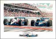Indy 500 (Closest Finish)