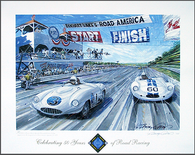 Road America Poster - Celebrating 50 Years