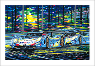 Porsche at LeMans (Serigraph)