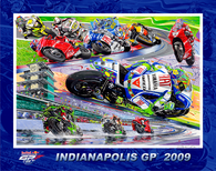 Indianapolis GP - 2009 Poster