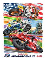 Indianapolis Moto GP - 2008 Poster