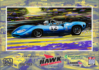Road America, The Hawk Event Poster