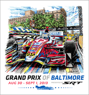 2013 Grand Prix of Baltimore Collector Giclee