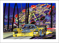 LeMans, the Big Ride Giclee