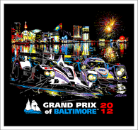 2012 Grand Prix of Baltimore ALMS Collector Giclee
