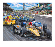 100th Running, Indianapolis 500 (2016)