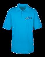 Embroidered  Performance Polo-Coast Blue