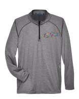 Embroidered Performance Stretch Tech 1/4 Zip
