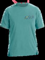Embroidered Tee - Sea Green