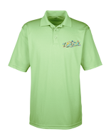 Embroidered  Performance Polo-Light Green