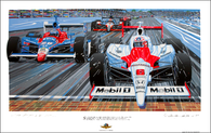 Indy 500 Commemorative Poster