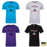 Printed Crew Neck Short Sleeve T-shirt