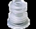Undersized pour spout liners