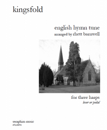 Kingsfold (English Folk Tune), for 3 harps, arr. Rhett Barnwell