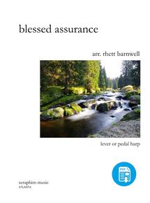 Blessed Assurance, arr. by Rhett Barnwell-PDF