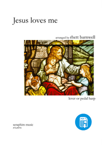 Jesus Loves Me by Rhett Barnwell-PDF