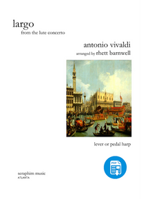 Largo from the Lute Concerto by Rhett Barnwell-PDF