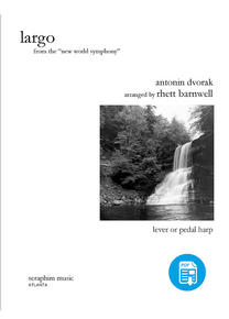 Largo (from the New World Symphony) by Rhett Barnwell-PDF