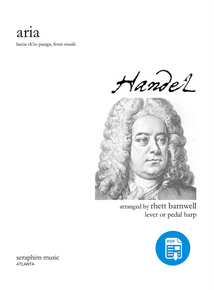Aria - G. F. Handel, arr. Rhett Barnwell - PDF