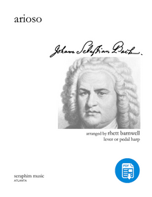 Arioso-J. S. Bach, arr. Rhett Barnwell - PDF