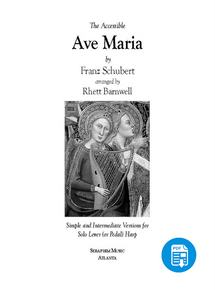 Ave Maria by Schubert, arr. by Rhett Barnwell - PDF