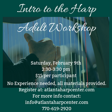 Intro to the Harp Adult Workshop