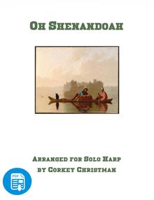 Oh Shenandoah by Corkey Christman  - PDF Download