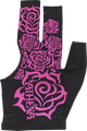 Athena Billiard Glove - Tribal Rose - XS ONLY