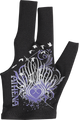 Athena Billiard Glove - Tribal Heart - XS ONLY