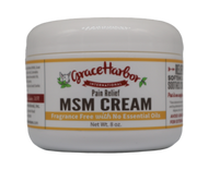 MSM Cream, Fragrance-Free, 8 oz. Plastic Jar