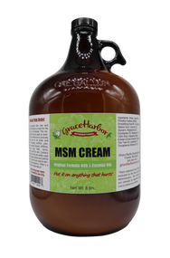 MSM Cream, Original Formula, Gallon Jug