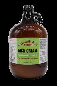 MSM Cream, Original Formula, Gallon Jug