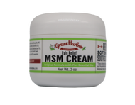 MSM Cream, Original Formula, 2 oz. Plastic Jar