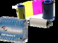 800012-480 - Zebra i Series Color Ribbon for ZXP Series 8, 5 Panel YMCKK, 500 images