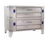 """Bakers Pride Y-602 Super Deck Y Series Double Deck Pizza Oven 60"""" - 240,000 BTU"""