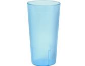 20 oz. Blue Pebbled Plastic Tumbler - 12/Pack