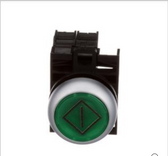 AUTOMATED EQUIPMENT SWITCH PUSH BUTTON LIGHTED (GREEN)