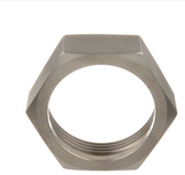 "SS HEX NUT FOR 2"" VALVE BODY ON 2"" DRAW-OFF VALVE"