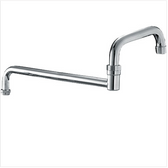 "SWIVEL SPOUT - 18"", DOUBLE-JOINTED"