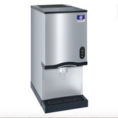 "Manitowoc CNF0202AL 16 1/4"" Air Cooled Countertop Nugget Ice Maker / Water Dispenser - 20 lb. Bin with Lever Dispensing - 120V"