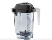 Vitamix 15978 Advance 48 oz. Clear Copolyester Deluxe Blender Jar with Lid and Wet Blade Assembly for Vitamix Blenders