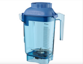 Vitamix 58988 Advance 48 oz. Blue Deluxe Copolyester Blender Jar with Wet Blade Assembly and Lid for Vitamix Blenders