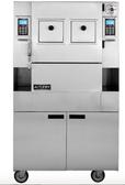 AutoFry MTI-40E Ventless Electric Floor Model 120 lb. Capacity 208/240V